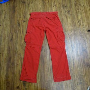 Polo by Ralph Lauren Pants - Polo Ralph Lauren Red Cargo Pants Size 36/32